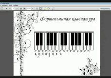 1. О нотах, расположении звуков на гитарном грифе и клавиатуре