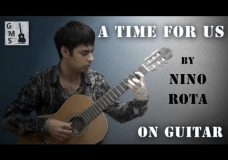 A TIME FOR US guitar cover — by Nino Rota (from Romeo and Juliet), performed by Alexander Chuyko