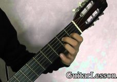 Аккорд C#m или Dbm на гитаре