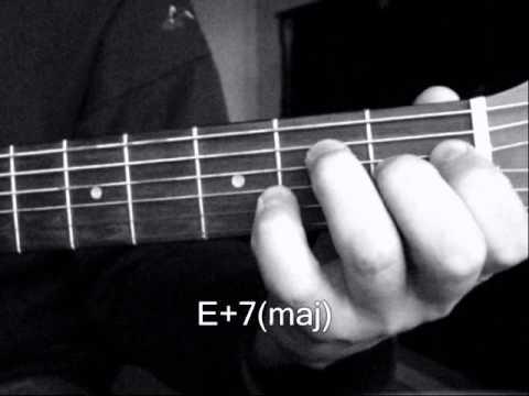 Аккорды для гитары. Аккорды от ноты Ми(E)
