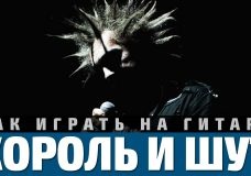 Аккорды песни 'Лесник' - Король и Шут