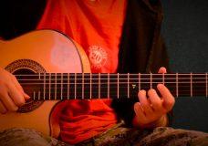 Баллада для Аделины, для начинающих гитаристов