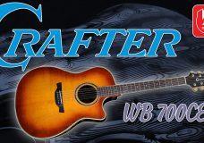 CRAFTER WB-700CE — необычная электроакустическая гитара