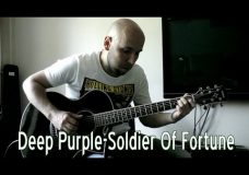 Deep Purple — Soldier Of Fortune Fingerstyle Guitar