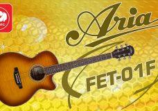 Электроакустическая гитара ARIA FET-01FX (есть встроенная реверберация и хорус)