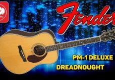 Электроакустическая гитара FENDER PM-1 Deluxe Dreadnought