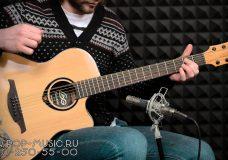 Электроакустическая гитара LAG T66ACE