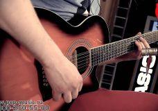 Электроакустическая гитара STAGG SA40MJCFI 12