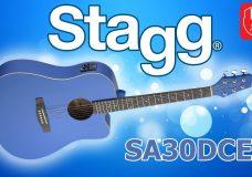 Электроакустическая гитара STAGG SA30DCE