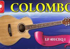 Электроакустика COLOMBO LF-401CEQ (дешевая гитара с подключением)