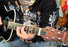 Гитара электроакустическая STAGG A1006-BK