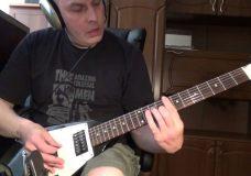 Гитарный РИФ на двух струнах( Drop — C )