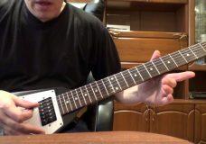 Глушение струн на электрогитаре (Palm Mute)