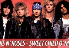 Guns N' Roses — Sweet Child O' Mine, разбор на гитаре (аккорды, бой)