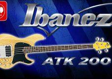 IBANEZ ATK200- качественная и относительно недорогая бас-гитара