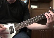 Игра медиатором для начинающих гитаристов