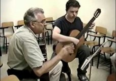 J.S. Bach Bourree and Double Partita 1(Guitar-school) part 1
