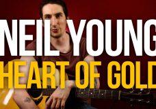 Как играть на акустике Neil Young Heart of Gold разбор песни