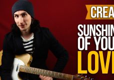 Как играть на гитаре Cream (Eric Clapton) — Sunshine of your love