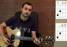 Как играть на гитаре Виктор Цой (группа Кино) — Восьмиклассница (разбор, видео урок)