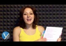 Как петь песни Как работать над песней часть 1