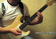 Lenny Kravitz Fly away — разбор гитарного риффа