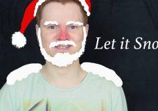 Let it snow by Frank Sinatra Ukulele Tutorial Урок игры на укулеле от Ukulele Kid