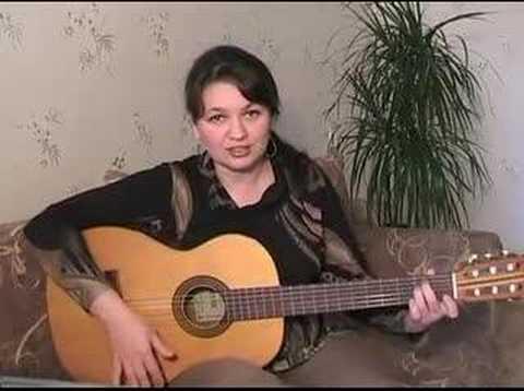Лирика Сектор газа Аккорды, гитарный бой. Урок гитары.