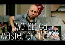 Master Of Puppets — Metallica Fingerstyle Guitar Cover