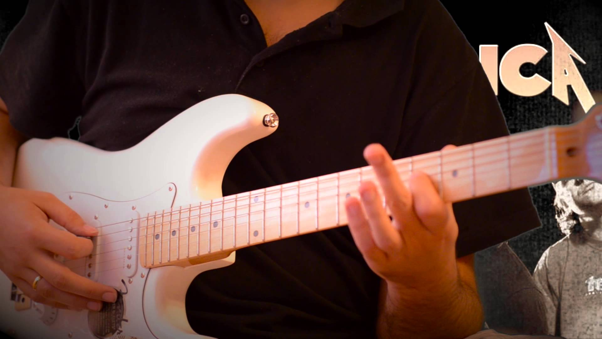 MetallicA — Orion разбор на гитаре