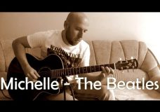 Michelle — Fingerstyle Guitar Cover (The Beatles)