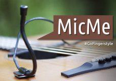 MicMe — внутренний микрофон для гитары Обзор на GoFingerstyle