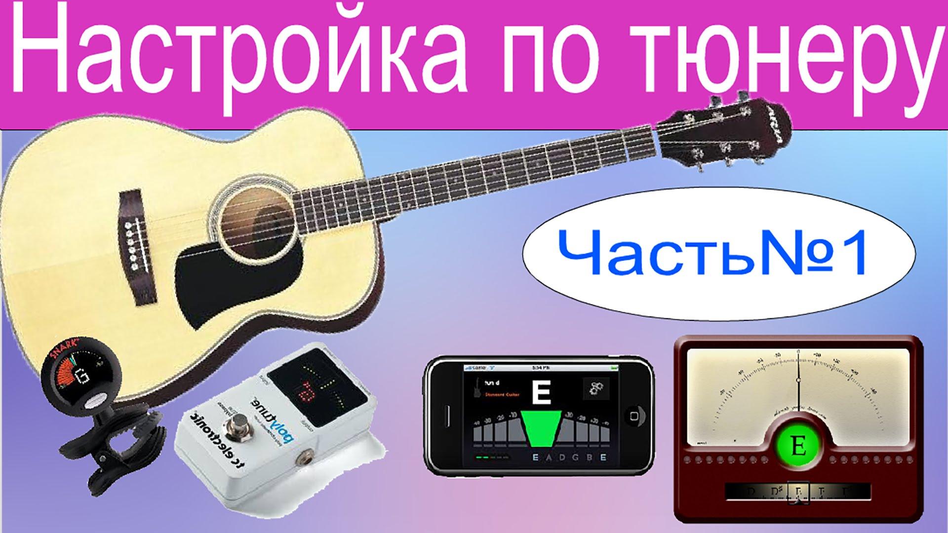 Настройка гитары для начинающих. Часть1. Тюнер в помощь