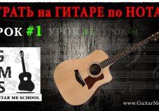 НОТНАЯ ГРАМОТА для гитаристов — Урок 1. КАК ЧИТАТЬ НОТЫ