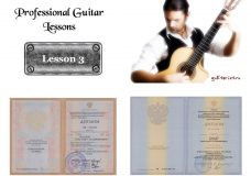Профессиональный Курс Игры на Гитаре — урок 3