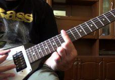 Простой РИФ 8 (РИФ для начинающих гитаристов)