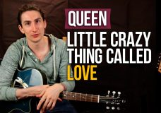 Queen — Crazy Little Thing Called Love — Разбор песни — Как играть на акустической гитаре
