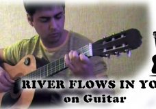 River flows in you — performed by Alexander Chuyko