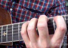 Самоучитель игры на гитаре. Урок 2 — Постановка левой руки