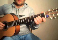 Сектор Газа-Песенка.Разбор на гитаре