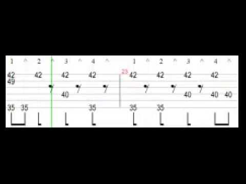 Сетка восьмыми ритм 6