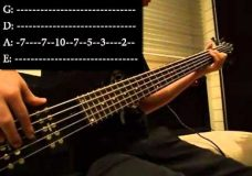 Seven Nation Army — Bass Cover With Tab (HD)