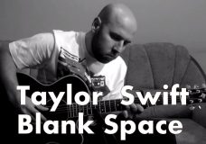 Taylor Swift — Blank Space Fingerstyle Guitar Cover