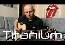 Titanium — David Guetta Fingerstyle Guitar
