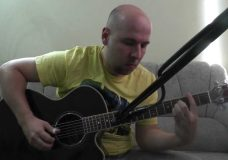 Tommy Emmanuel — Ruby's Eyes Fungerstyle Guitar Cover