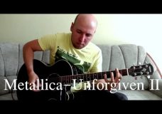 Unforgiven 2 — Acoustic Guitar Cover (Metallica)