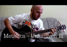 Unforgiven 3 — Metallica Fingerstyle Guitar Cover