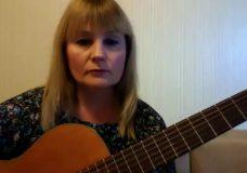 Упражнения 1, 2, настройка гитары по слуху
