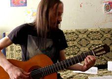 Уроки гитары. Аккорды. Виды аппликатуры CAGED. Часть 2
