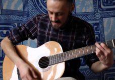 Уроки гитары. Бой Рок. 4 вариант. Рок как он есть;)